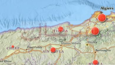 Photo of تسجيل 03 حالات جديدة بولاية تيبازةوالعدد الإجمالي يرتفع إلى 1495 إصابة بكوفيد 19